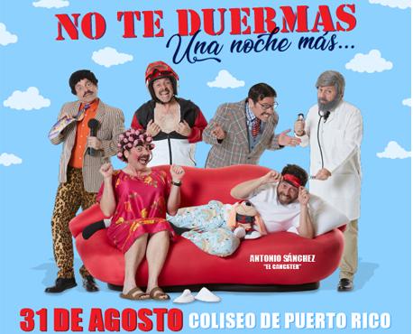 No Te Duermas, 31 Agosto 2019