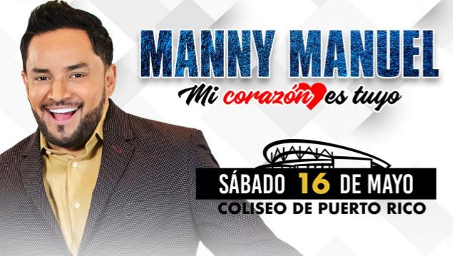 """Manny Manuel """"Mi corazón  es tuyo"""""""